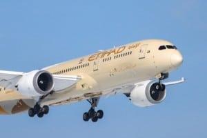 Etihad Flugzeug