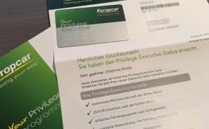 Europcar Status Anschreiben