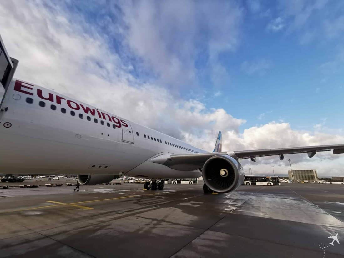 Eurowings Best FRA LAS Flugzeug
