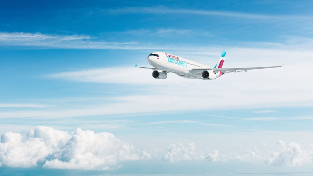 Eurowings Discover Airbus A330 Wolken