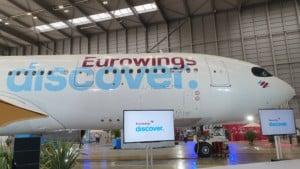 Eurowings Discover Flugzeug