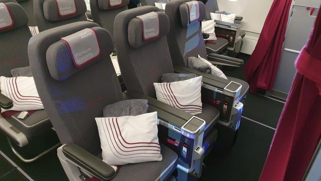 Eurowings Discover Premium Economy Mitte