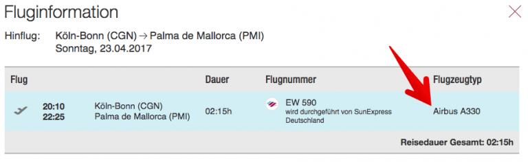 Eurowings Fluginformation