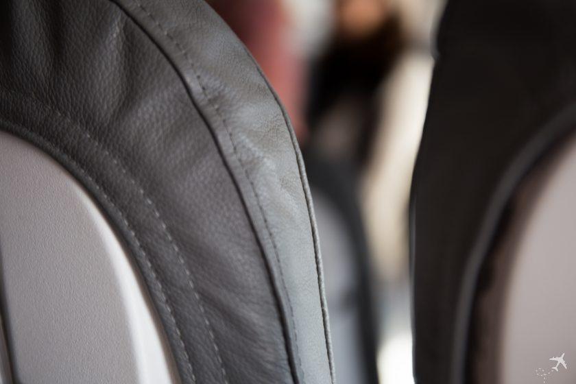 Eurowings Dicke der Sitze