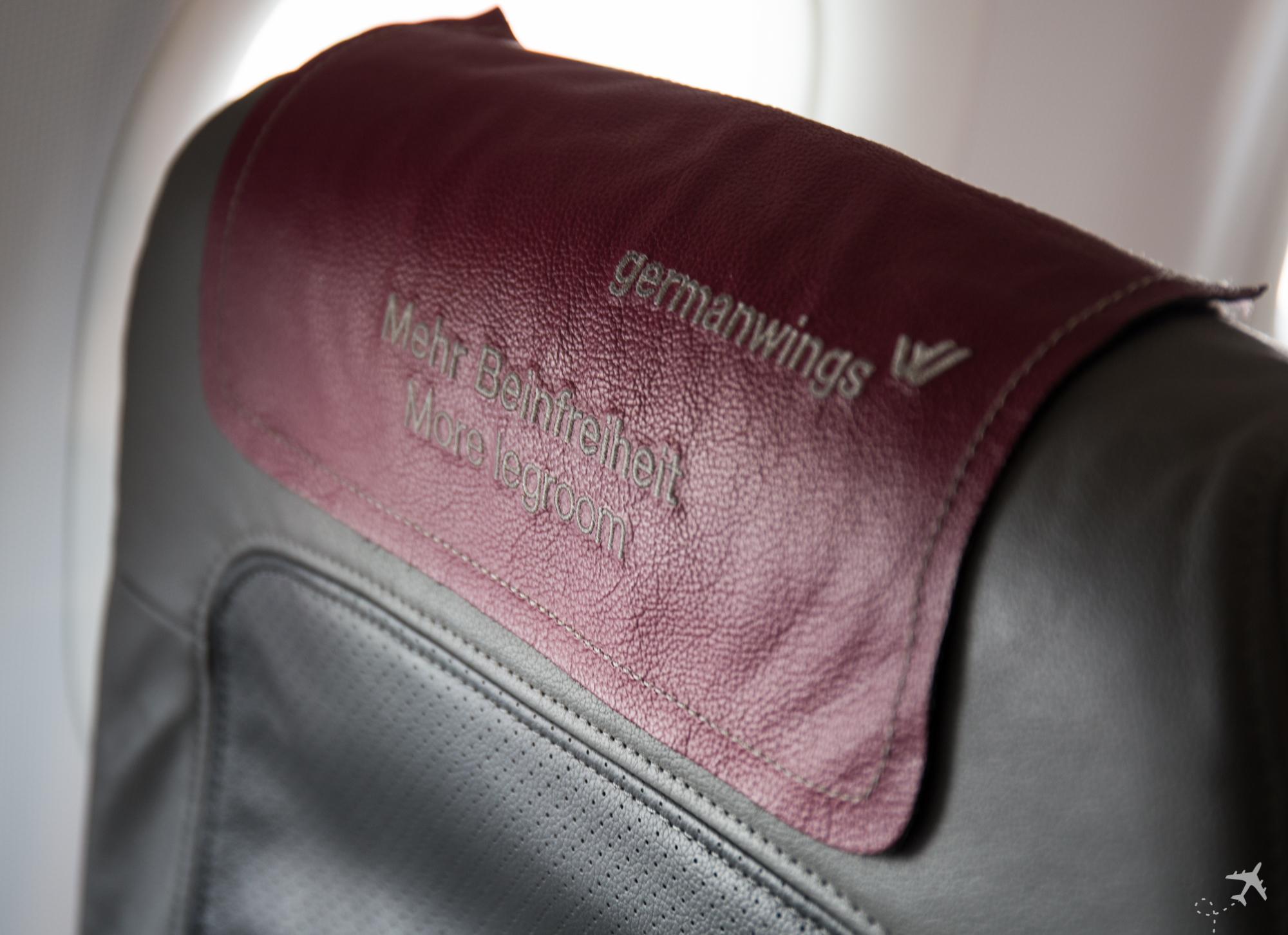 Eurowings mehr Beinfreiheit
