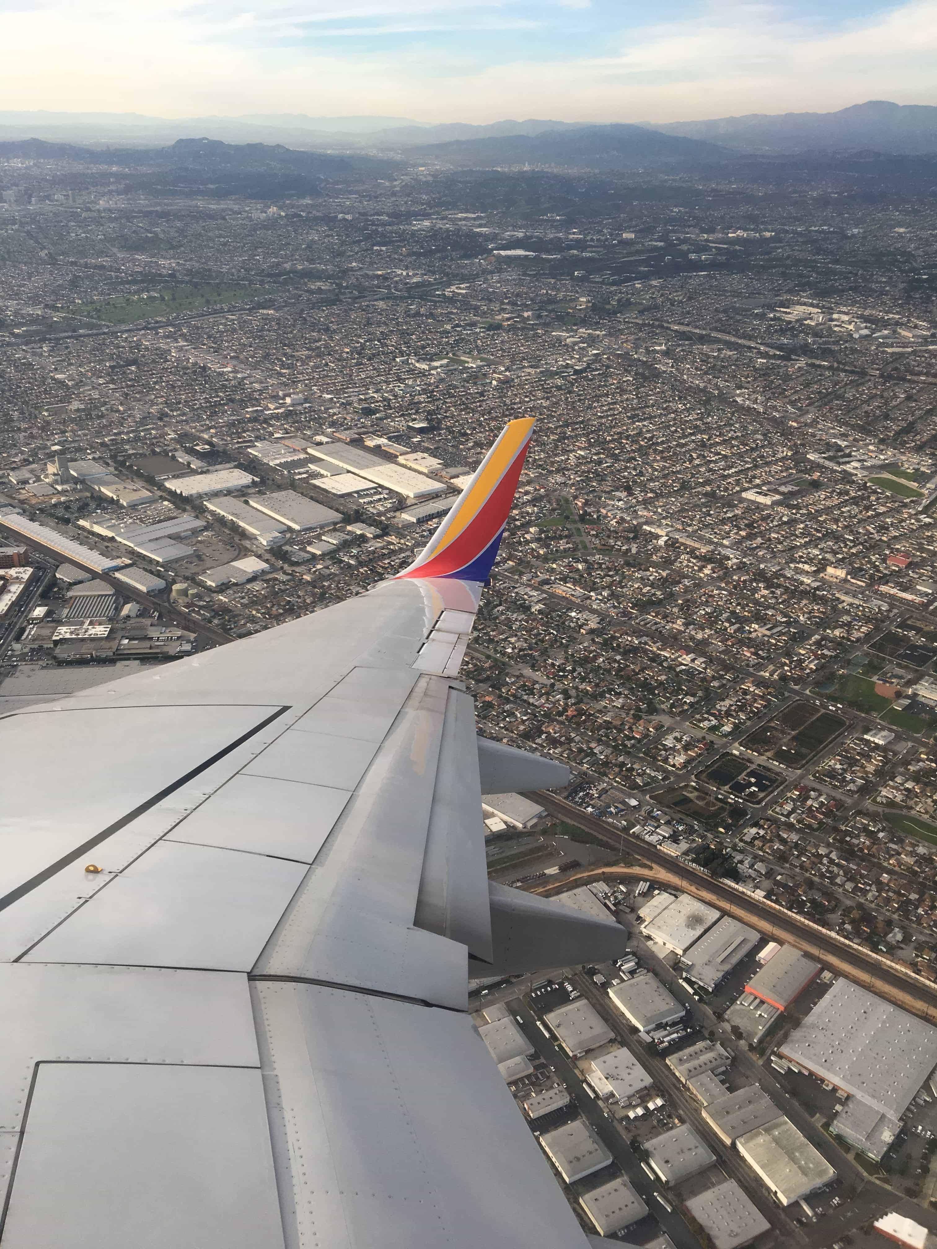 InFlight Los Angeles Southwest