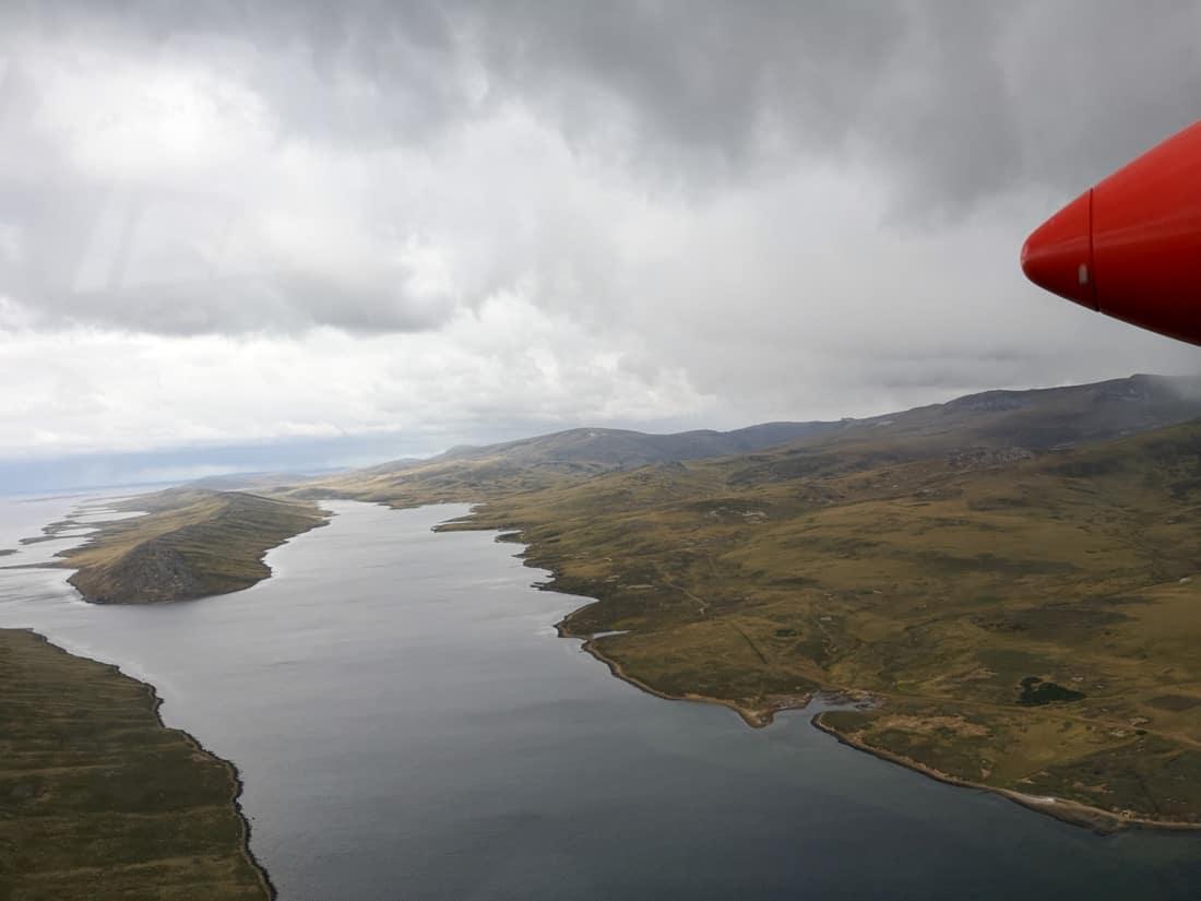 Aussicht FIGAS Falklandsund