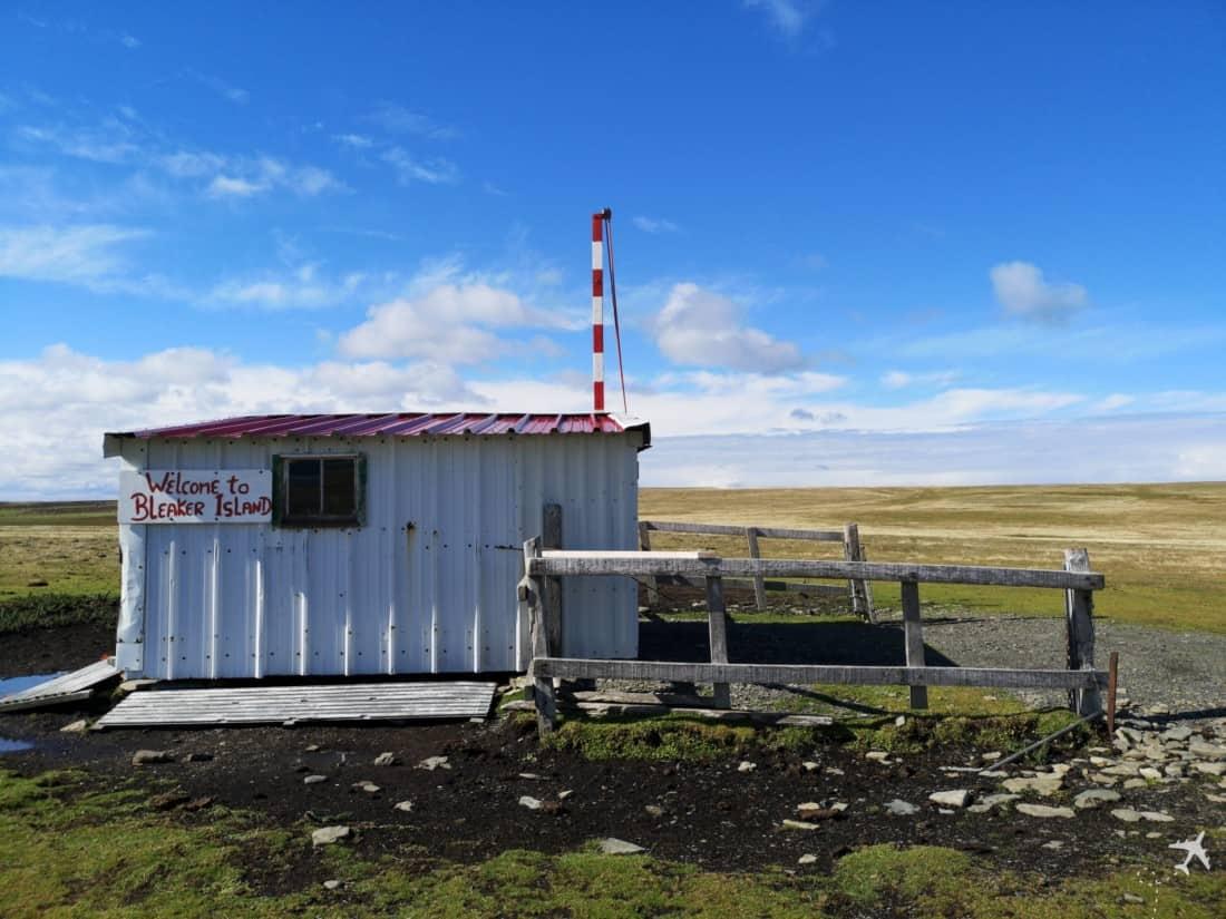 Flugplatz Bleaker Island