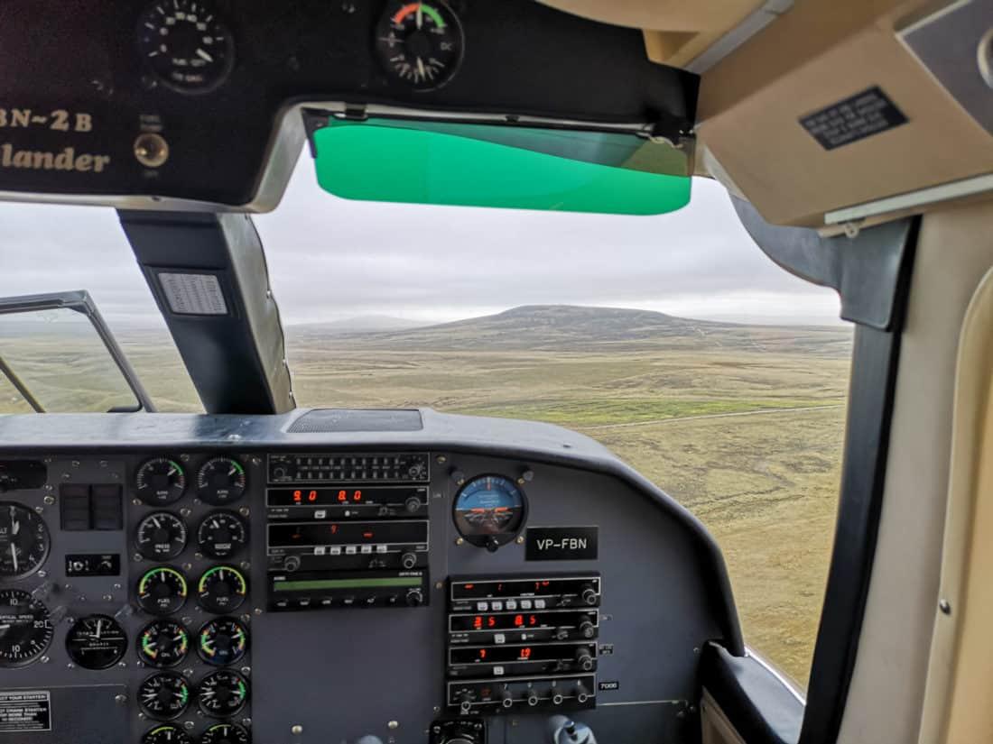 Cockpit FIGAS Landschaft