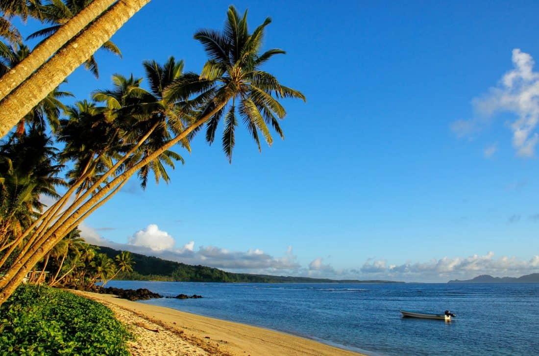 Lavena Beach, Taveuni Island, Fidschi
