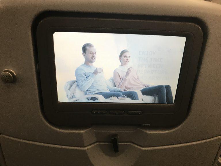 Finnair Bewertung Entertainment