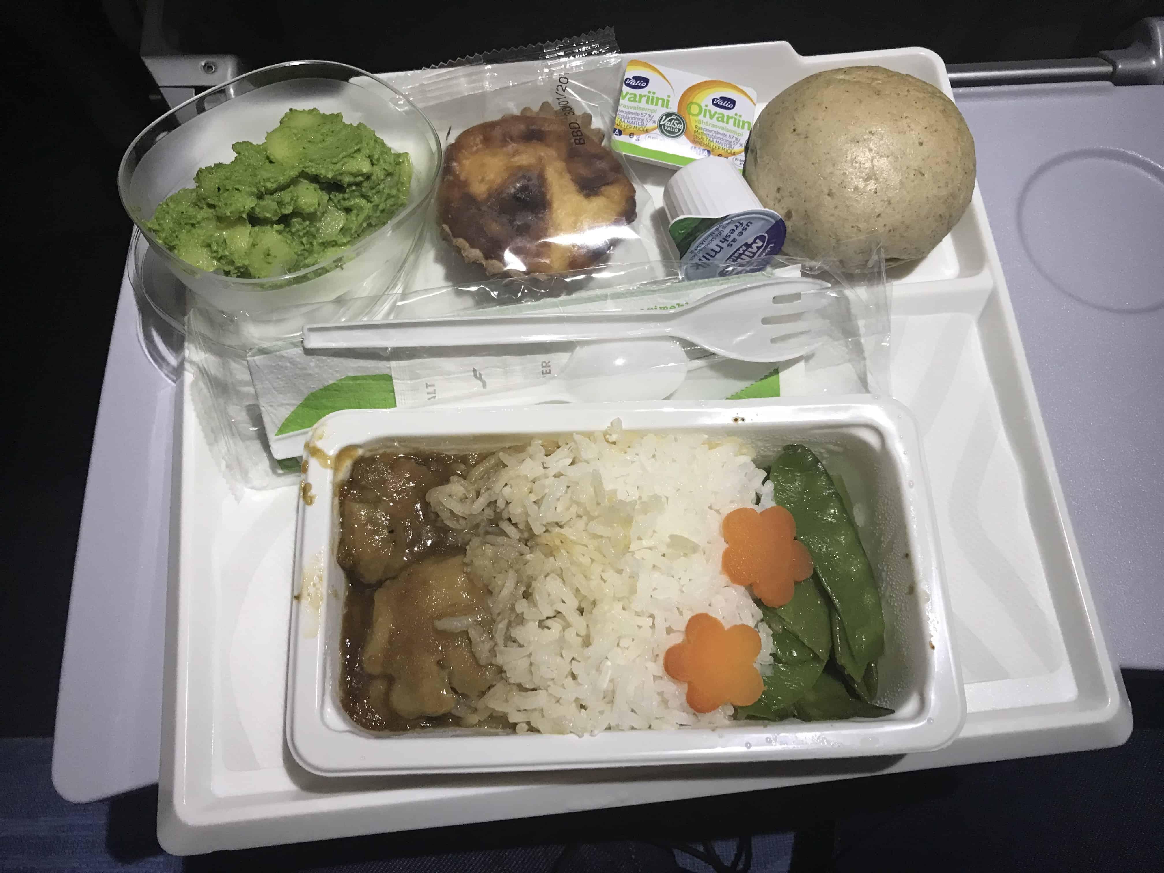 Finnair Bewertung Essen