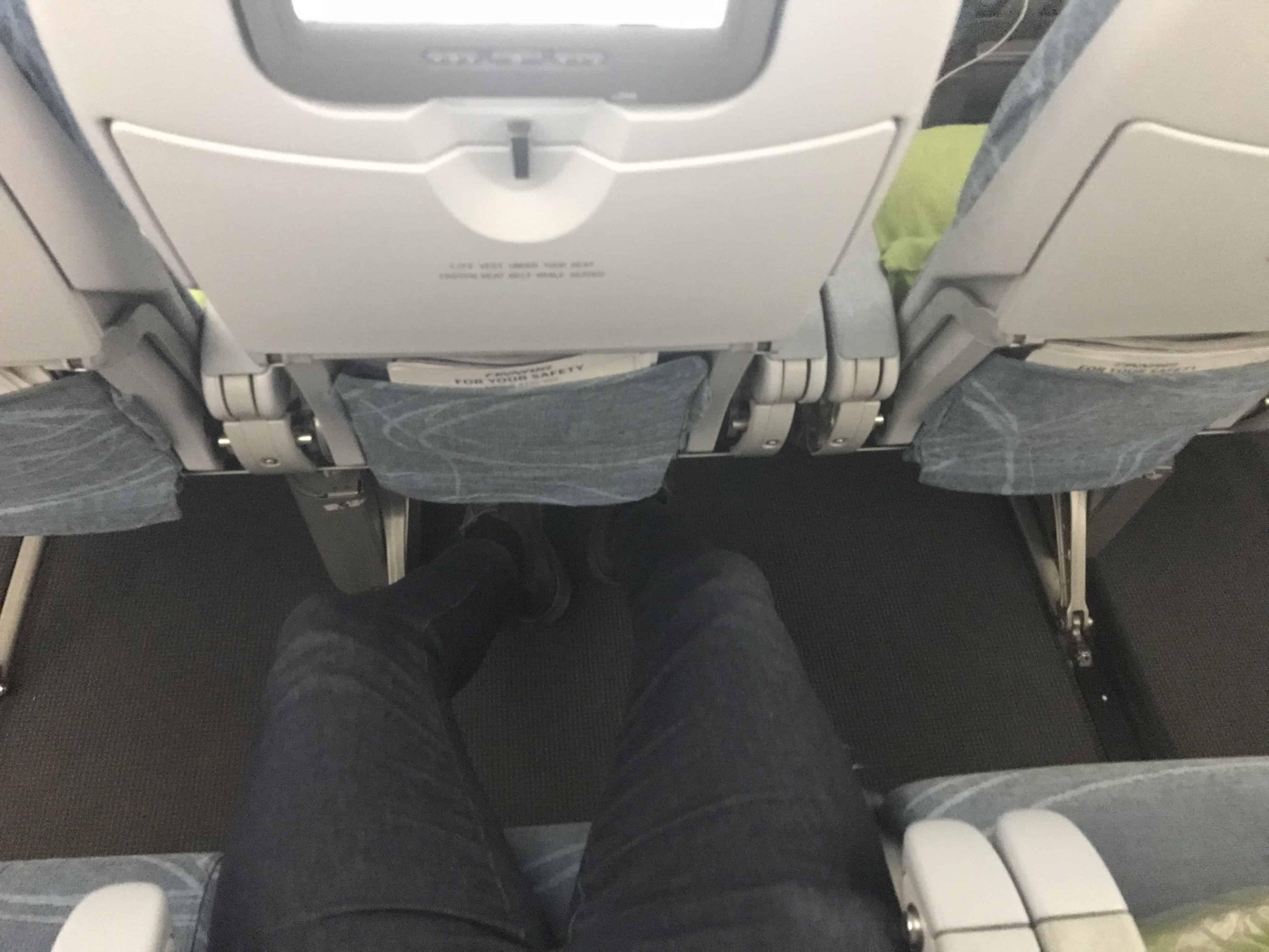 Finnair Bewertung Sitzabstand