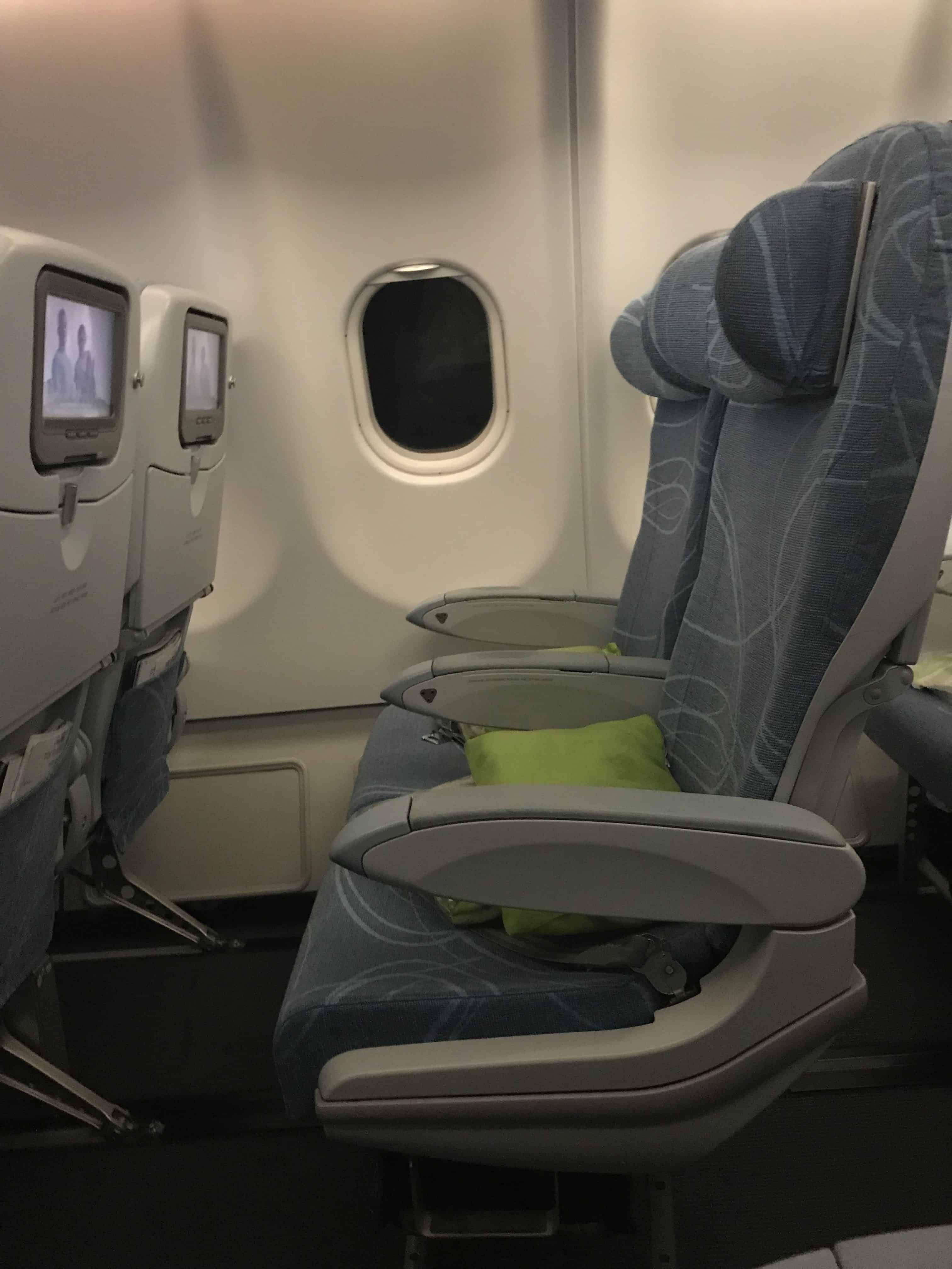 Finnair Bewertung Sitze