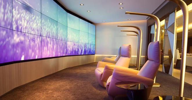 First Class Lounge and Spa Etihad