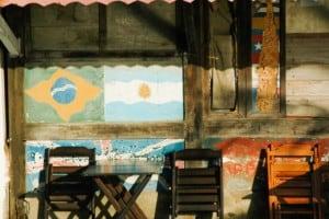 Flagge Brasilien Argentinien Südamerika