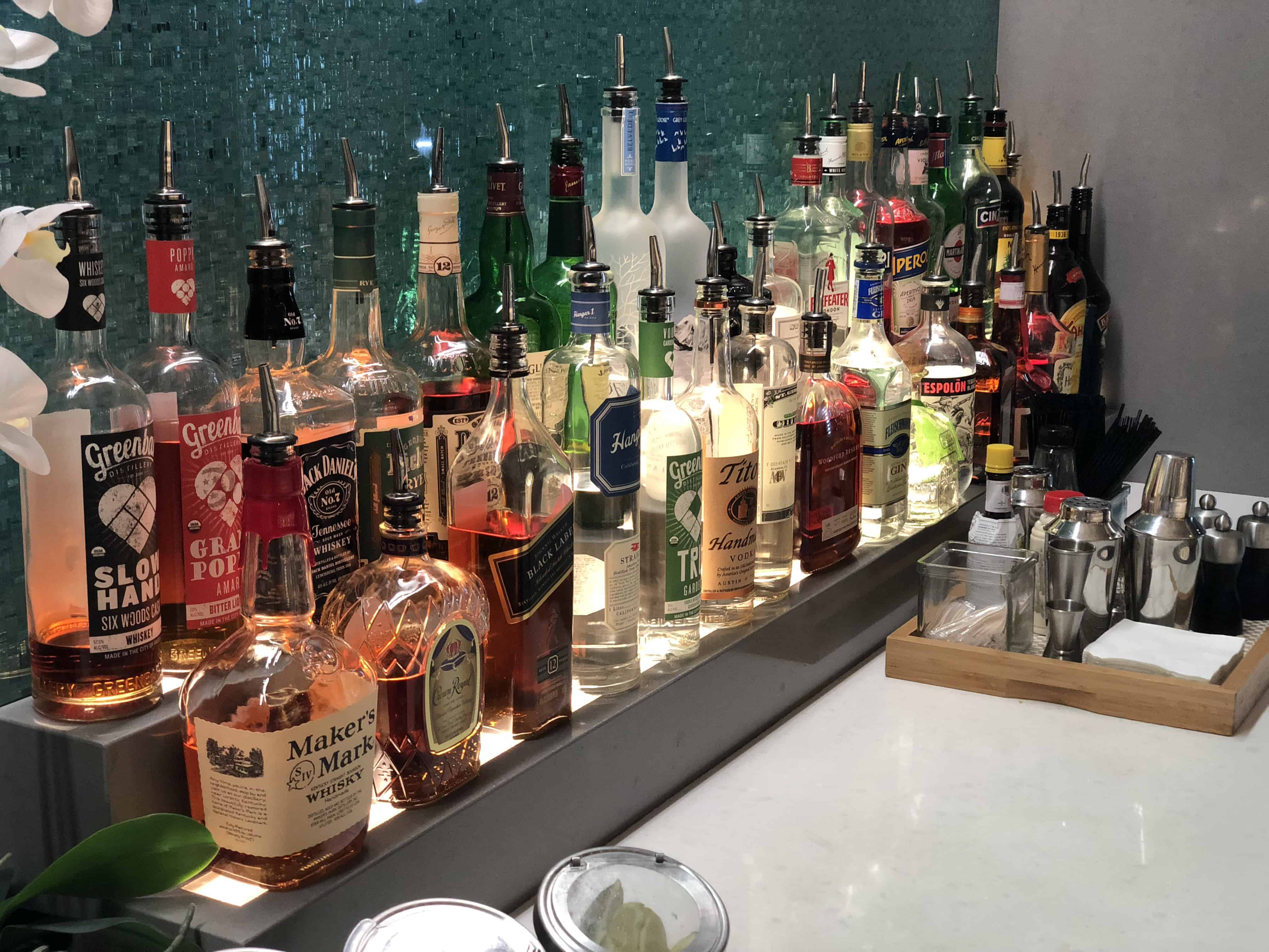 Flagship Lounge LAX Alokoholika