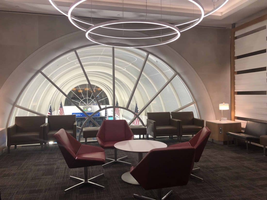 Flagship Lounge LAX Foyer