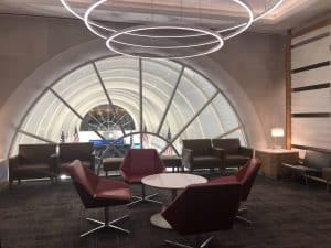 Flagship Lounge LAX Foyer