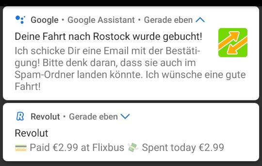Stornogebühr Flixbus