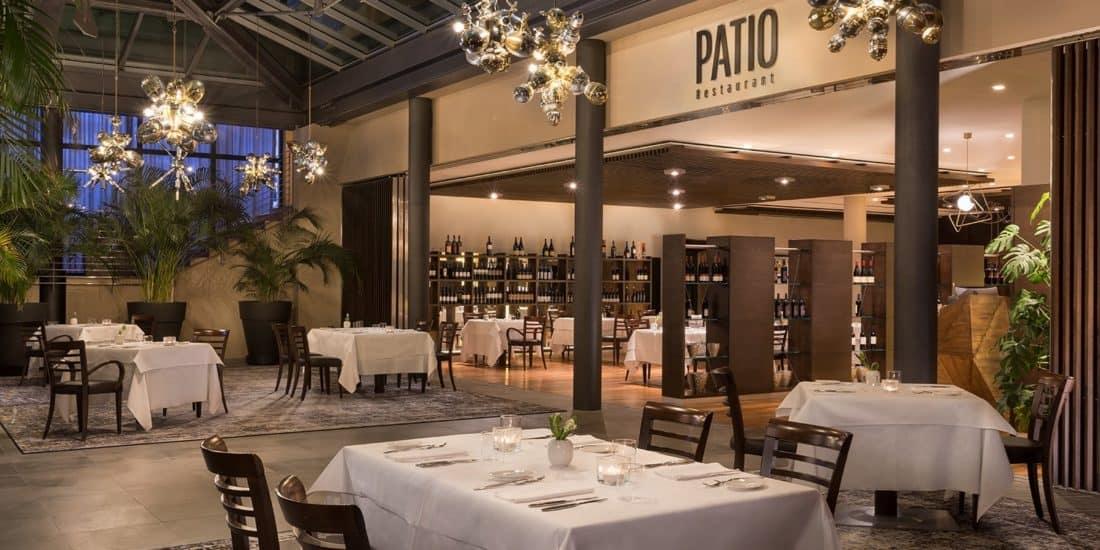 Patio Restaurant (© Four Points by Sheraton Bozen)