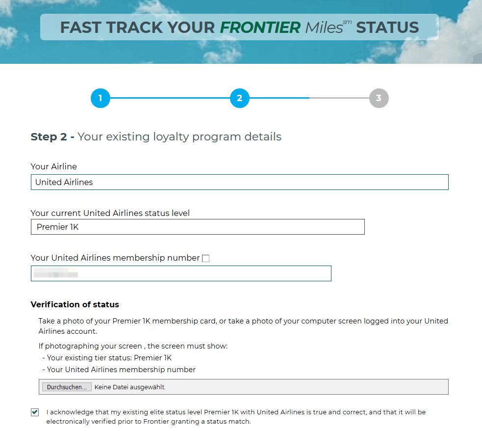 Frontier Match Schritt 2