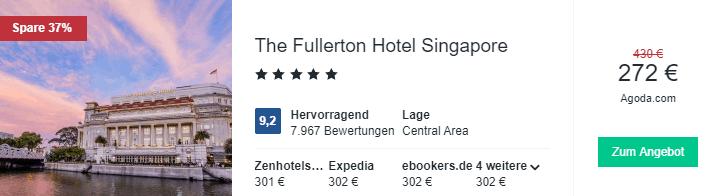 Fullerton SIN Hotelsuche