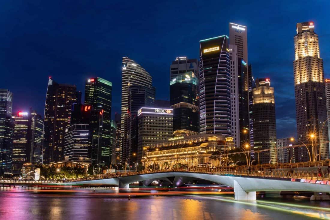 Fullerton Skyline Singapur