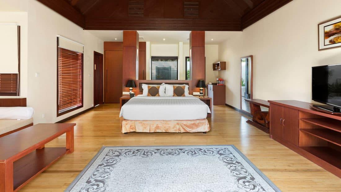 Furaveri Island Resort Spa Garden Villa Schlafzimmer