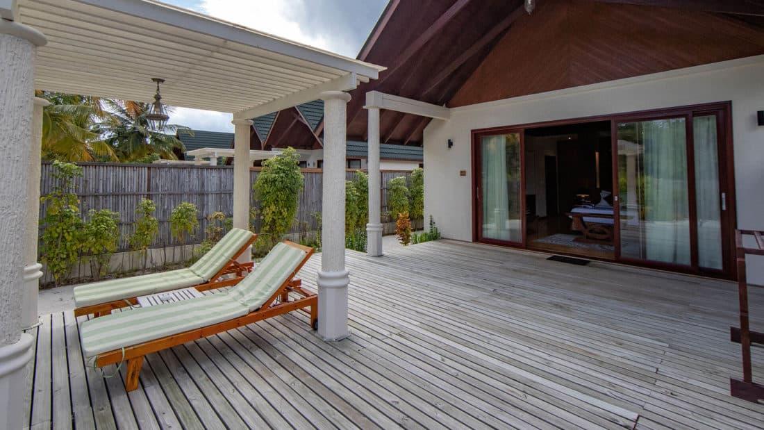 Furaveri Island Resort Spa Garden Villa Terrasse
