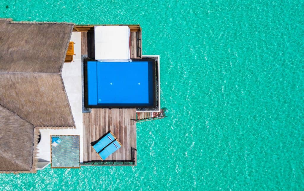 Furaveri Island Resort Spa Ocean Villa Ansicht