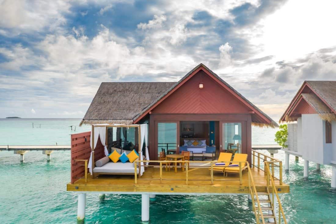 Furaveri Island Resort Spa Water Villa Ansicht