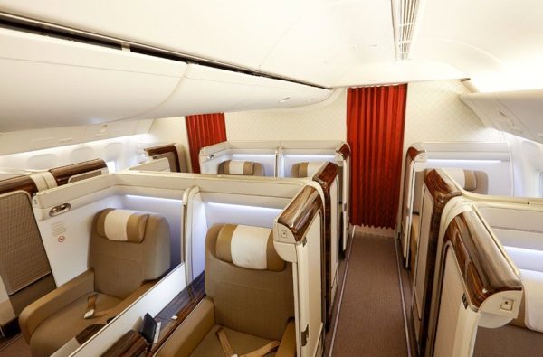 Garuda Indonesia First Class