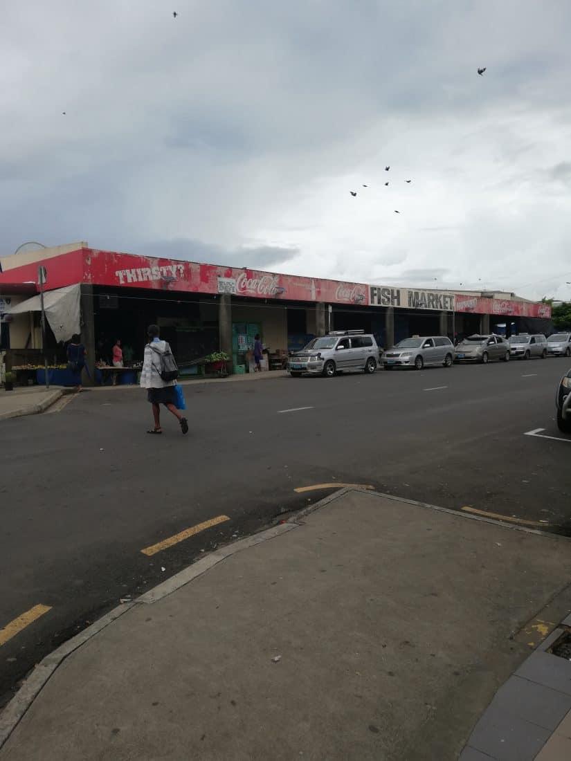 Gastbeitrag Fidschi Fischmarkt