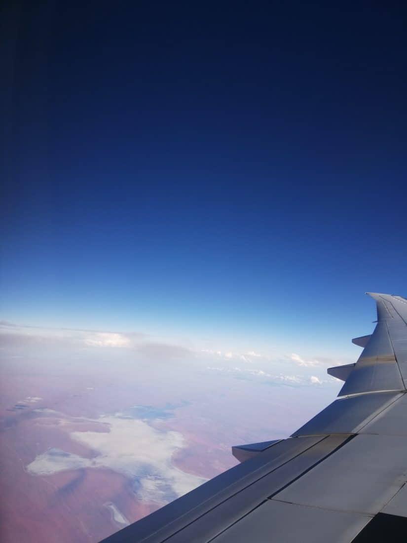 Gastbeitrag Fidschi Qatar Airways über dem Outback