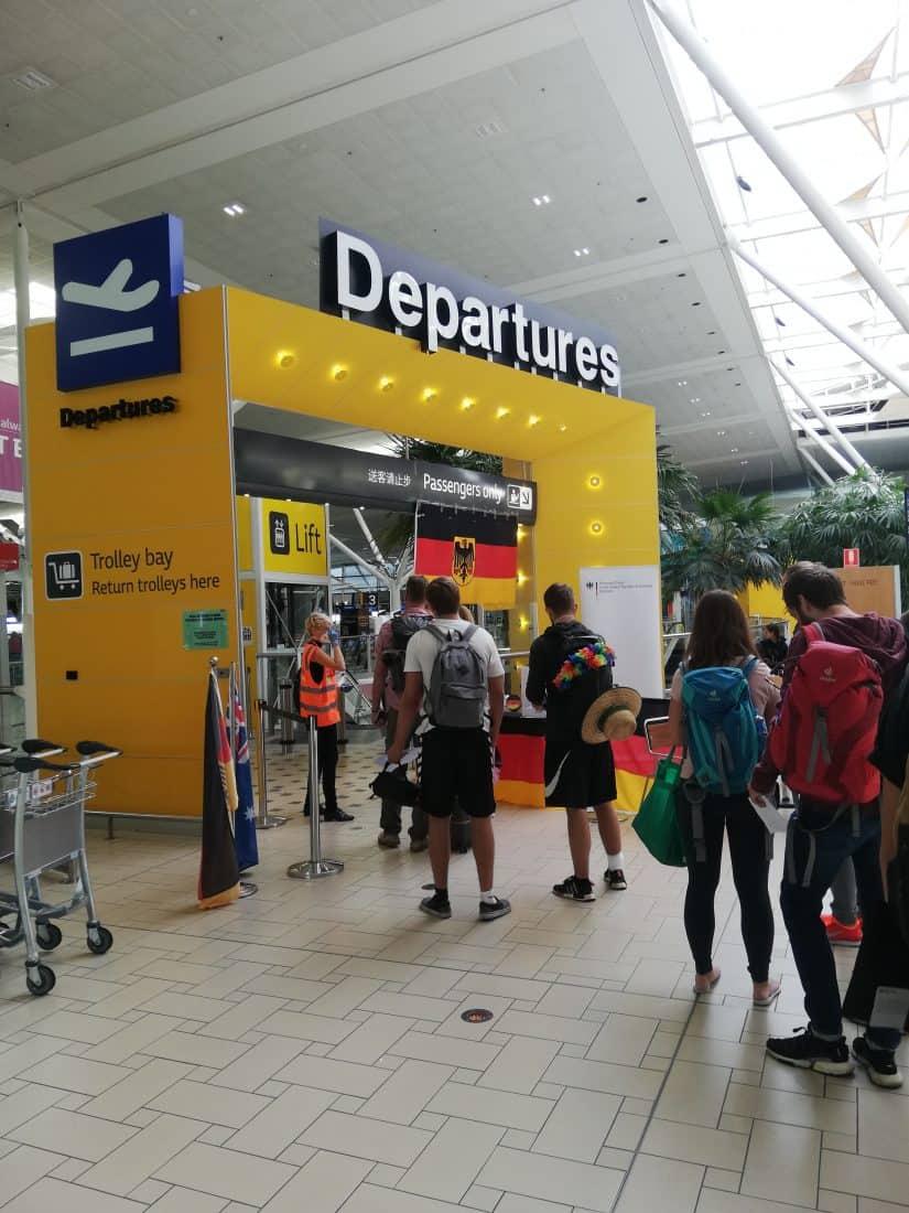 Gastbeitrag Fiji Abflug nach Brisbane