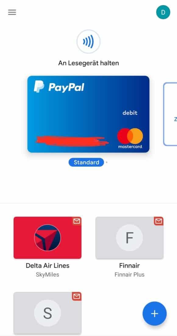 Google Pay Startseite PayPal