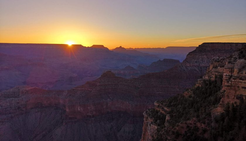 Grand Canyon Sonnenaufgang