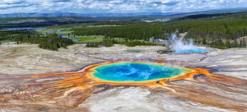 Grand Prismatic Spring, Yellowstone, USA