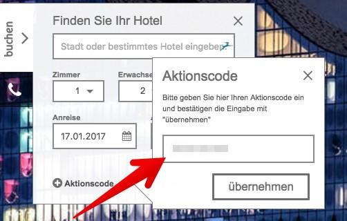 Gutscheinfeld bei H-Hotels