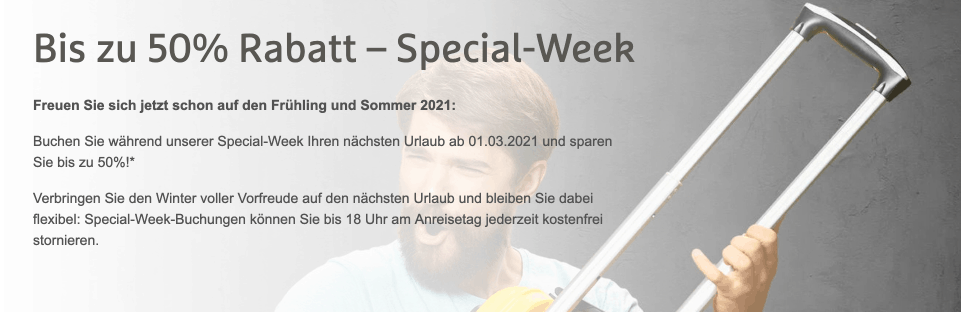 H Hotels Special Weel 2020