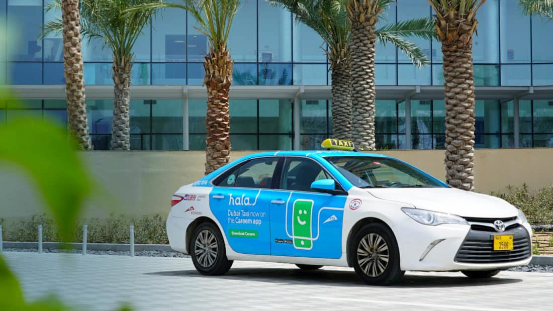 Hala Taxi via Careem