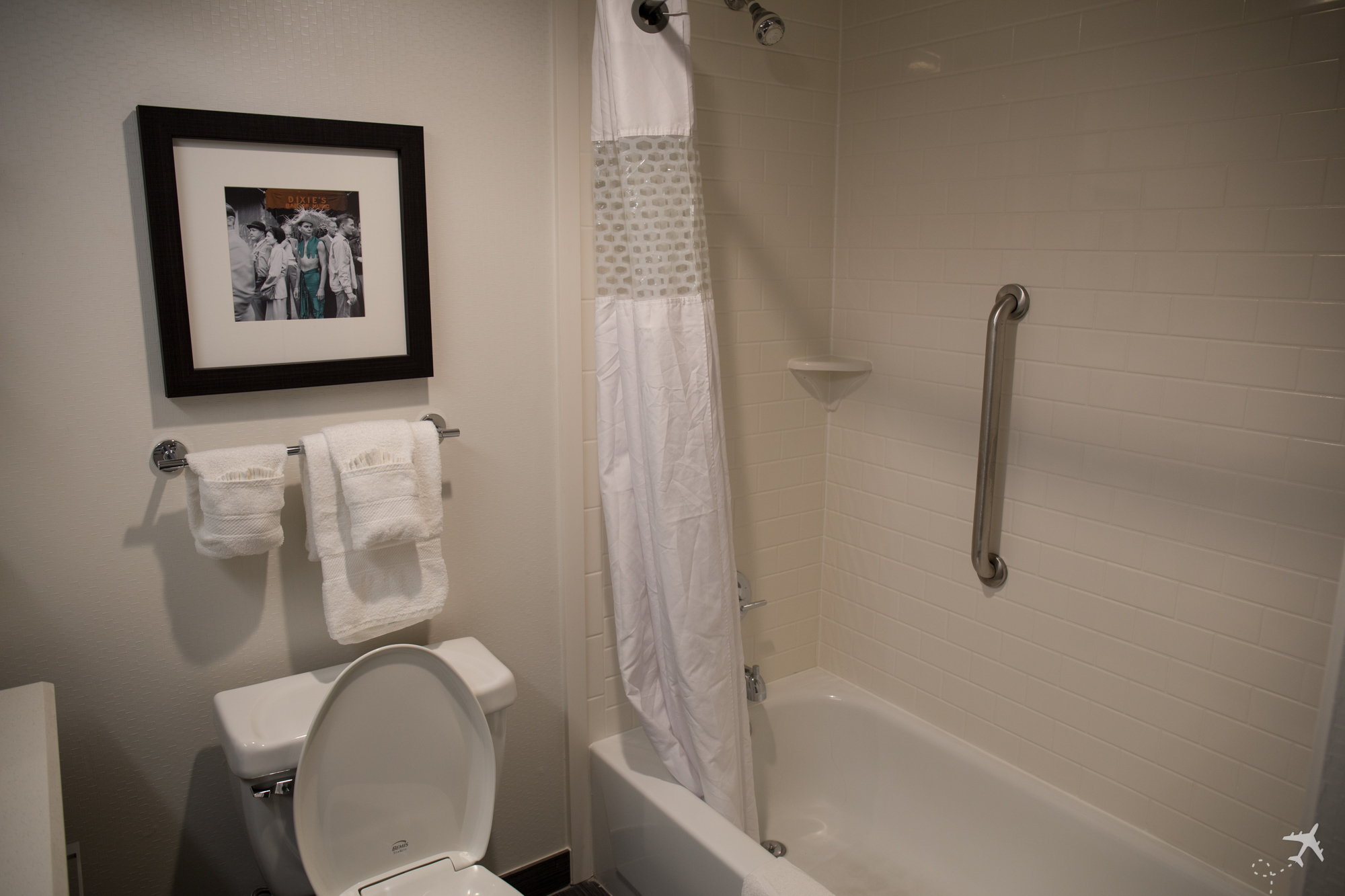 Dusche - Hampton Inn & Suites New Orleans-Convention Center