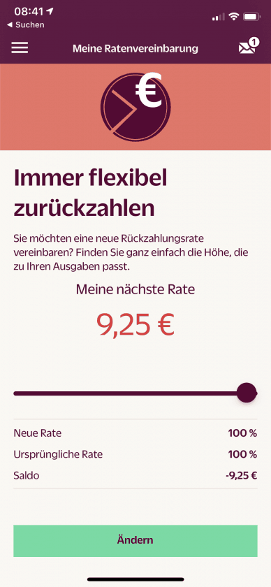 Hanseatic Bank App Ratenzahlung