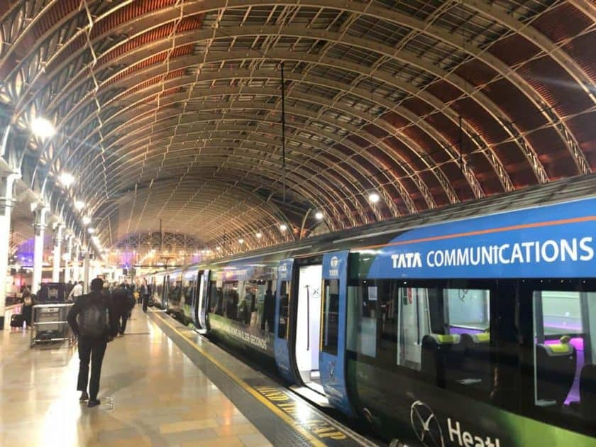 Heathrow Express Bahnhof