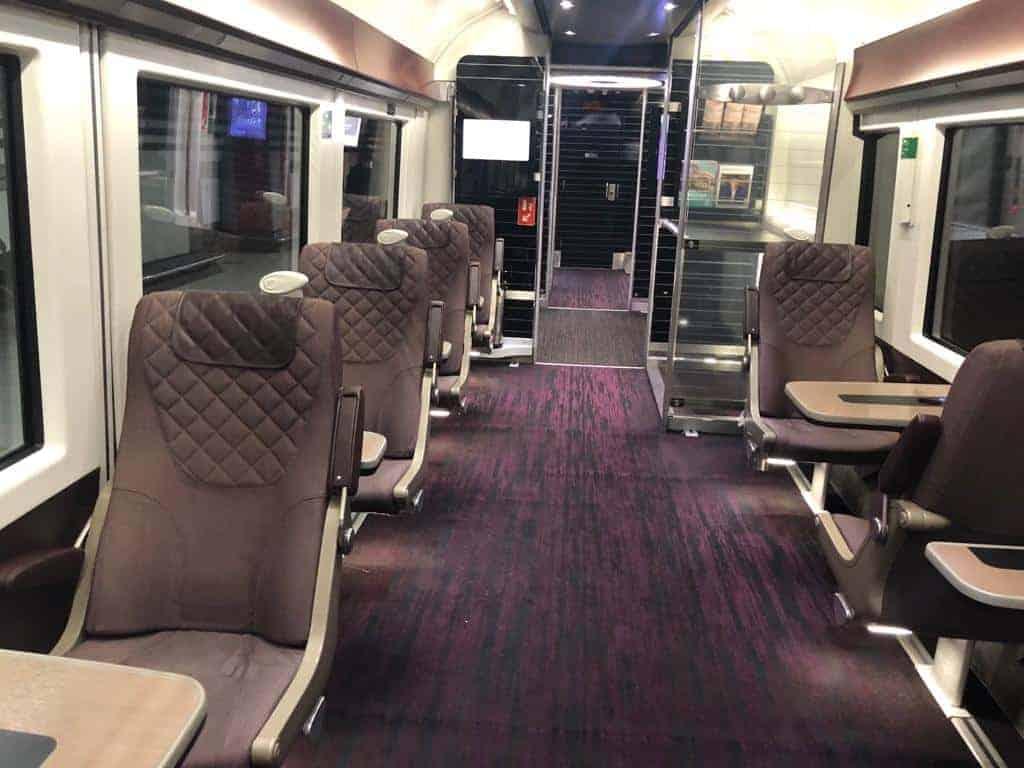 Heathrow Express Sitze