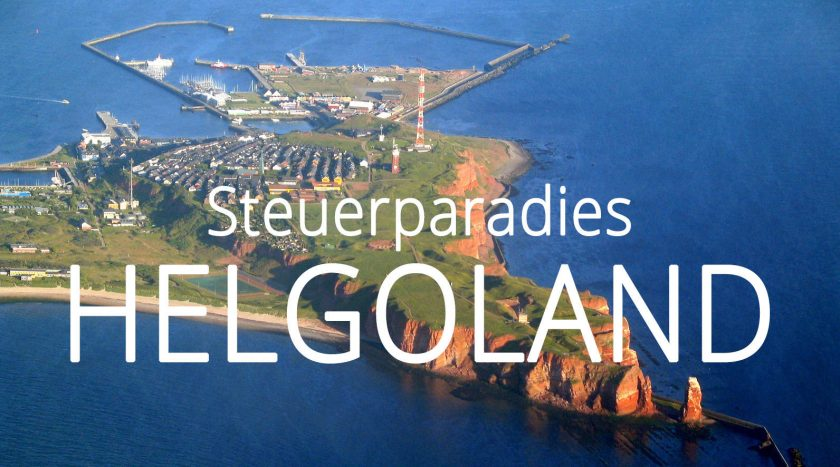 Steuerparadies Helgoland