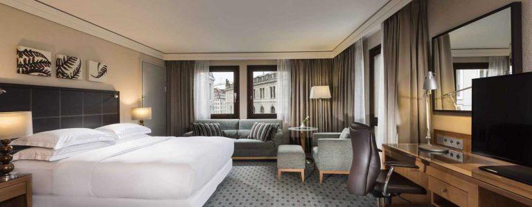 Hilton Dresden Executive Zimmer
