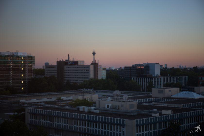 Hilton Düsseldorf Ablick Skyline