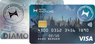 Hilton HHonors Diamond Kreditkarte